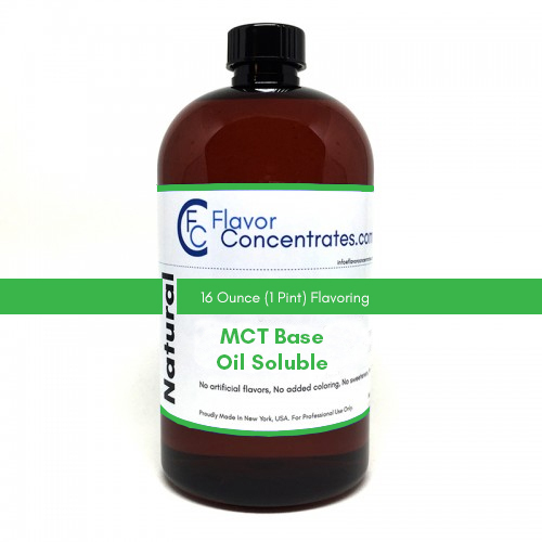Natural Pumpkin Spice Flavor - MCT Oil Soluble